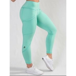 P'tula Active Sami The Mint Green Leggings Small
